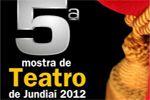 Folder do Evento: 5ª Mostra de Teatro de Jundiaí - 2012