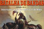 Folder do Evento: Batalha de Bandas