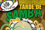 Folder do Evento: Tarde de SAMBA