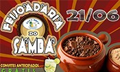 Folder do Evento: FEIJOADARIA ÁGUA DOCE DO SAMBA