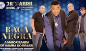 Folder do Evento: Raça Negra l 28/04 l Clube Jundiaiense