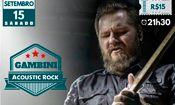 Folder do Evento: Gambini Acoustic Rock no Villa Pizza Bar
