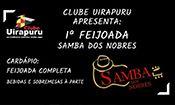 Folder do Evento: Feijoada Samba dos Nobres