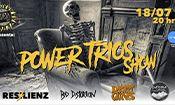 Folder do Evento: Power Trios Show em Jundiaí/SP