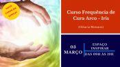 Folder do Evento: Curso de frequência de cura arco íris