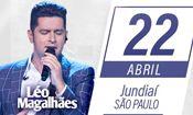 Folder do Evento: Show Léo Magalhães - Jundiaí - SP