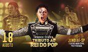 Folder do Evento: Tributo ao Rei do Pop em Jundiaí - SP