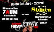 Folder do Evento: 7AUM e Stonea no Palco 01 do Aldeia!