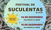 Folder do Evento: Festival de Suculenta de Verão