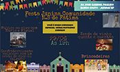 Festa Junina Comunidade N. S. de Fátima