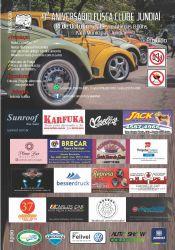 Folder do Evento: 9º ANIVERSÁRIO FUSCA CLUBE JUNDIAÍ