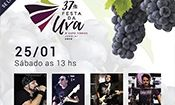 Banda Over Rock na Festa da Uva