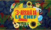 Folder do Evento: 3º Arraiá DA LE CHEF