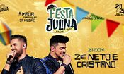 Zé Neto e Cristiano na Festa Julina