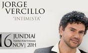 Folder do Evento: Jorge Vercillo Intimista - Jundiaí - SP