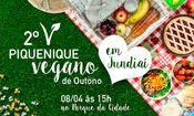 Folder do Evento: 2° Piquenique Vegano De Outono Em Jundia