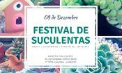 Folder do Evento: Festival de Suculentas