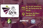 Folder do Evento: 37ª Festa da Uva de Jundiaí - 2020