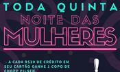 Folder do Evento: Noite das Mulheres - Toda Quinta