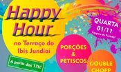 Folder do Evento: Happy Hour no Terraço Ibis