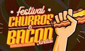 Folder do Evento: Festival Churros & Bacon Jundiaí