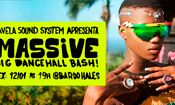 Folder do Evento: Massive Dance Hall no Bar do Haules
