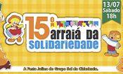 Folder do Evento: Arraiá da Solidariedade