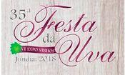 Folder do Evento: Festa da uva 2018