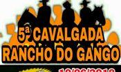 Folder do Evento: Quinta Cavalgada Do Rancho Do Gango