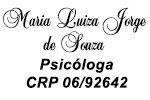 Maria Luiza Jorge de Souza - Psicóloga