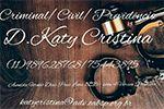 Doutora Katy Cristina - Advogada Criminal e Civil