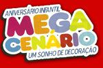 Mega Cen�rio Decora��es para Festas Infantis - Jundia�