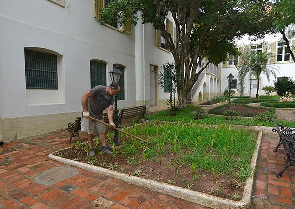 Jardim do Solar do Barão será reaberto ao público em maio