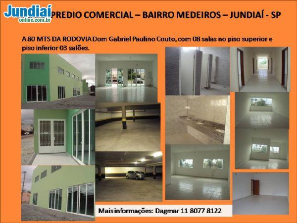 Predio Comercial - Medeiros - Jundiaí -