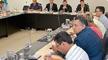 GGIM faz reuni�o para discutir Plano de Seguran�a e Cidadania