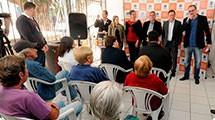 Prefeitura inaugura nova Unidade de Sa�de Pitangueiras