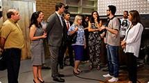 Diretora-superintendente do Centro Paula Souza visita a TVE