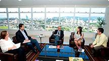 Prefeitura confirma parceria com a Siemens