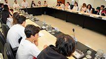 Alunos do SESI visitam Câmara e Prefeitura