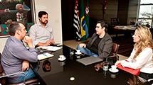 Prefeitura e Associação Comercial iniciam diálogo sobre o Natal no Centro