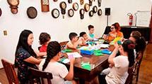 Oficina de origami inspira novas ideias para o Comitê das Crianças