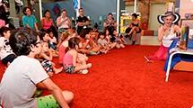Biblioteca disponibiliza vídeos com leituras de livros para crianças
